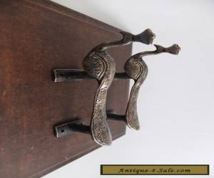 Item VINTAGE ANTIQUE STYLE BIRD SOLID BRASS PAIR OF DOOR HANDLES PULLS for Sale