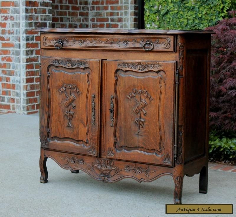 ... Antique French Lierges Style Oak Cabinet Cupboard Entry Hall Foyer  Chest Pegged for Sale - Antique French Lierges Style Oak Cabinet Cupboard Entry Hall Foyer