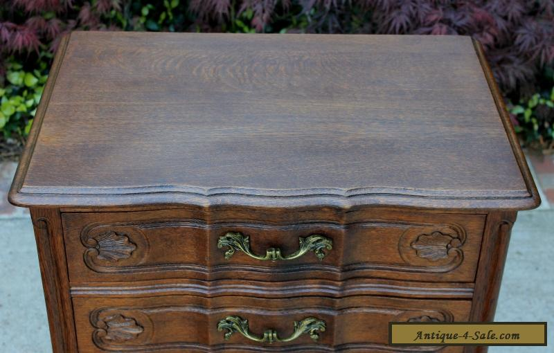 vintage nightstands for sale antique tiger oak louis xv style 3 drawer chest end 6851