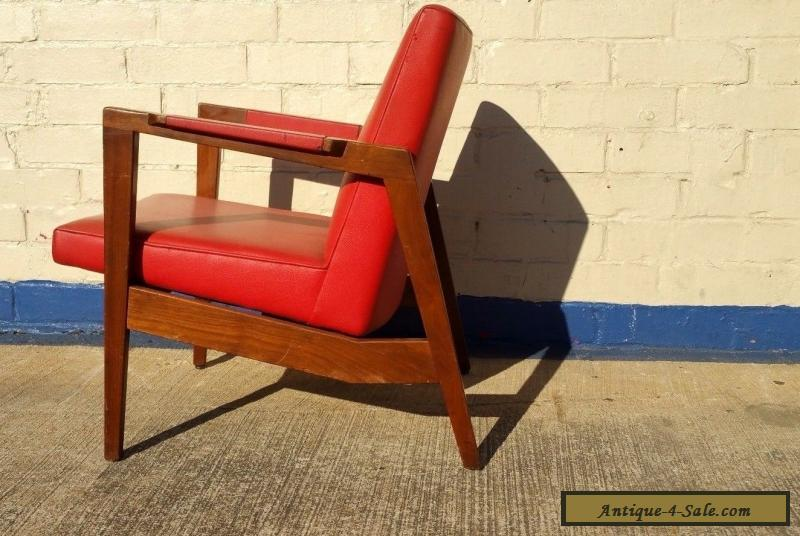 Vintage Gunlocke Lounge Chair In The Style Of Risom ~ Mid Century Modern  For Sale ...