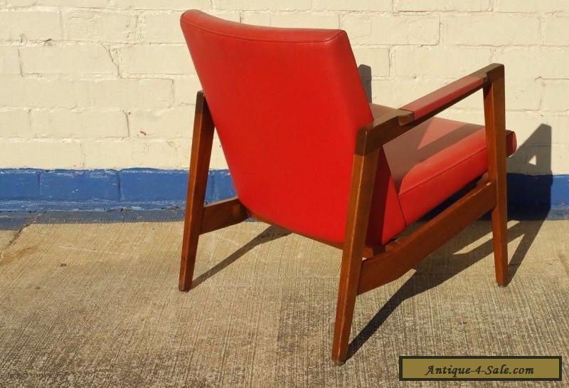 ... Vintage Gunlocke Lounge Chair in the style of Risom ~ Mid Century  Modern for Sale - Vintage Gunlocke Lounge Chair In The Style Of Risom ~ Mid Century
