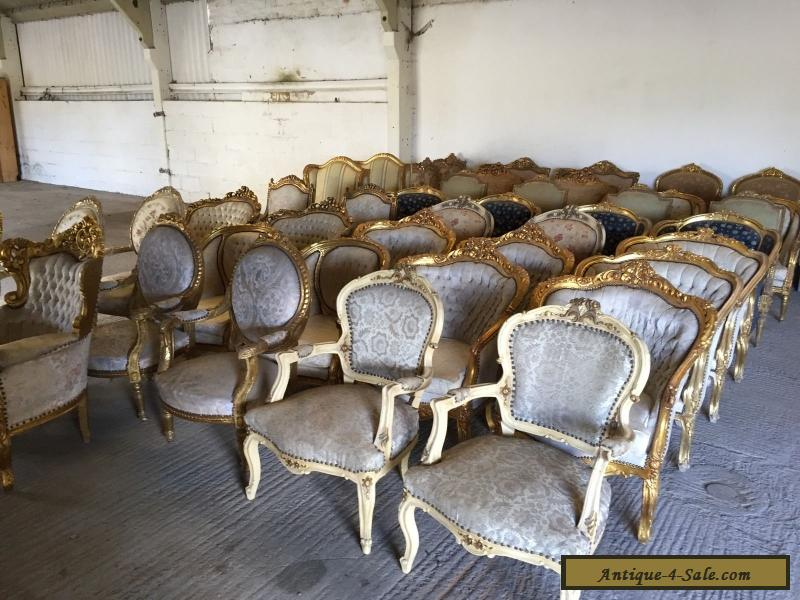 Beautiful, Pair, French, Louis XV Chairs, Original, Antique/vintage, - Beautiful, Pair, French, Louis XV Chairs, Original, Antique/vintage