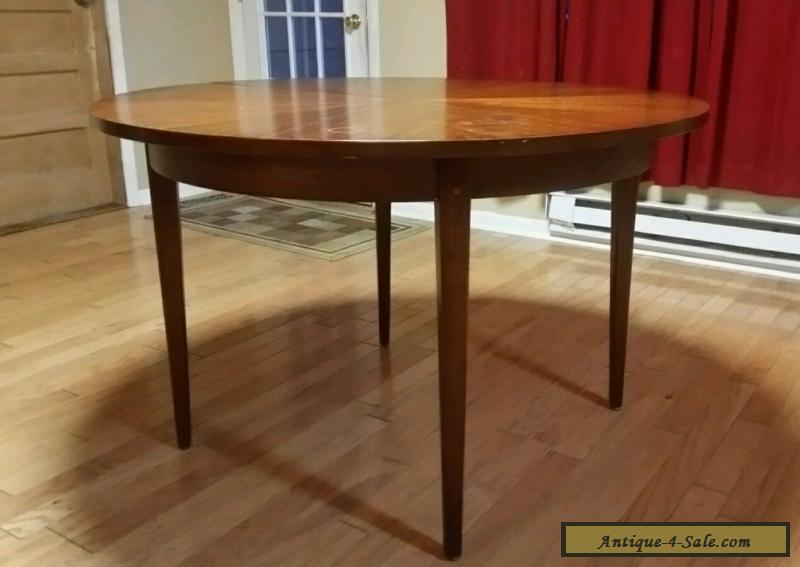 ... Dining Table With 2 Leaves By American Of Martinsville Image Source ·  Vintage American Martinsville Mid Century Danish Modern Starburst