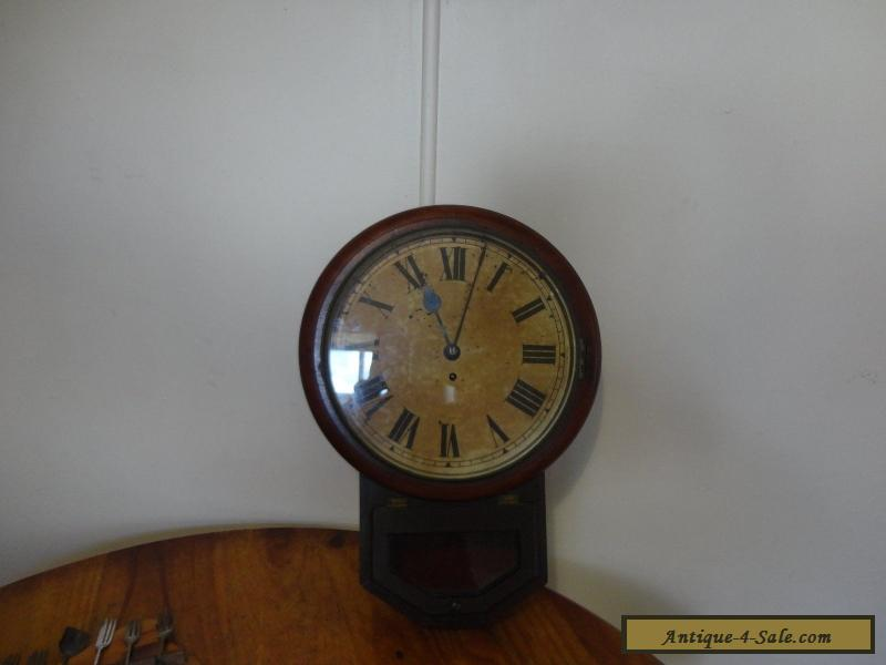Antique Railway Working Fusee Clock For Sale In Australia