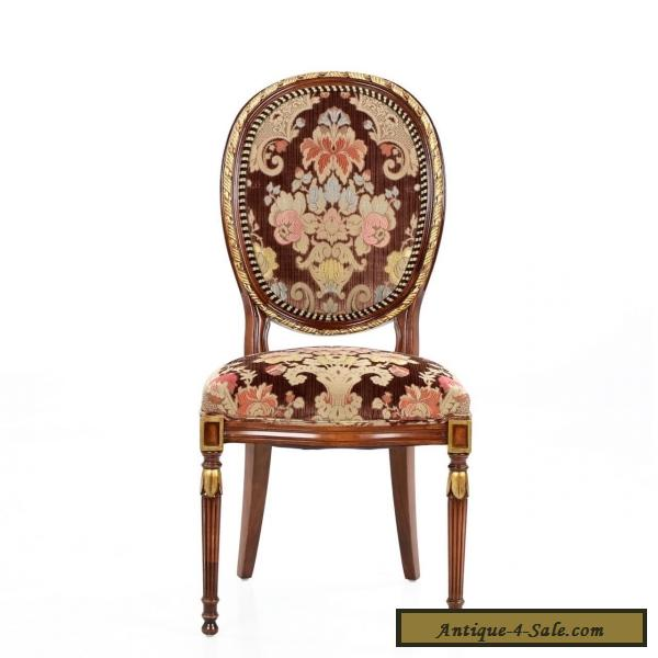 Beautiful Set Of Twelve French Louis XVI Style Dining Chairs In Antique  Taste For Sale ...