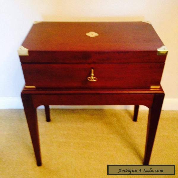 antique portable writing desk