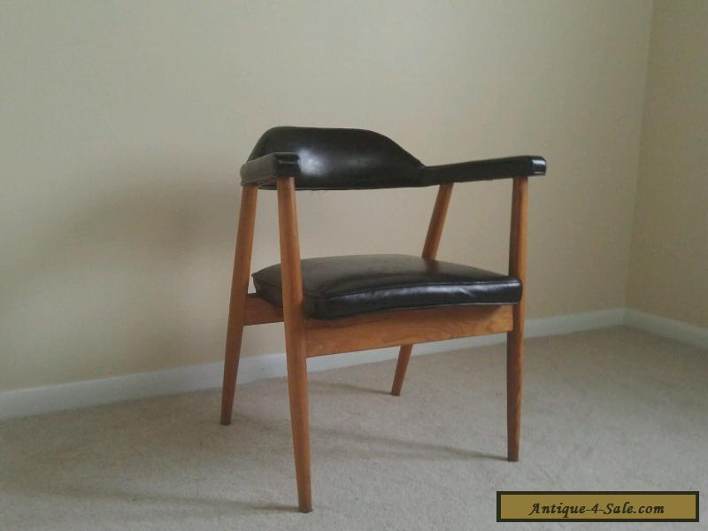... Danish Modern MID CENTURY Sculptural Walnut Lounge Chair Mod Shelby  Williams For Sale