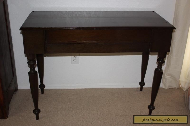 Antique/Vintage/Primative Spinet Piano Desk with Mahogany Wood for Sale - Antique/Vintage/Primative Spinet Piano Desk With Mahogany Wood For