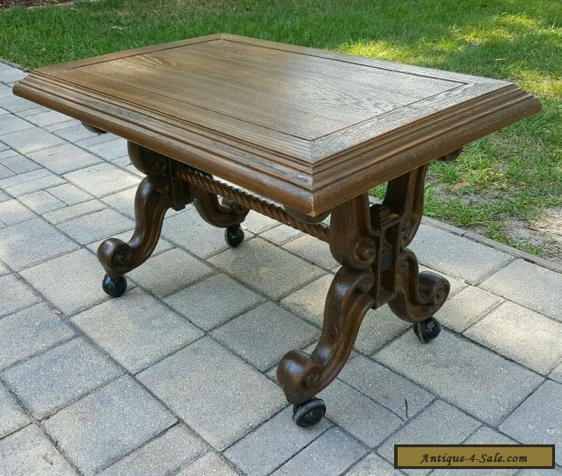 Vintage MID CENTURY French Provincial Style Coffee Table