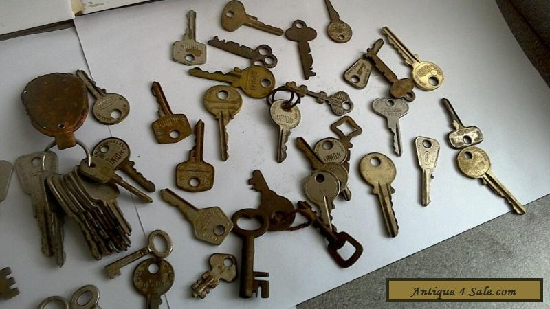 Contract For Selling A Car >> vintage old keys Antique modern locks padlocks,furniture, classic car for Sale in United Kingdom
