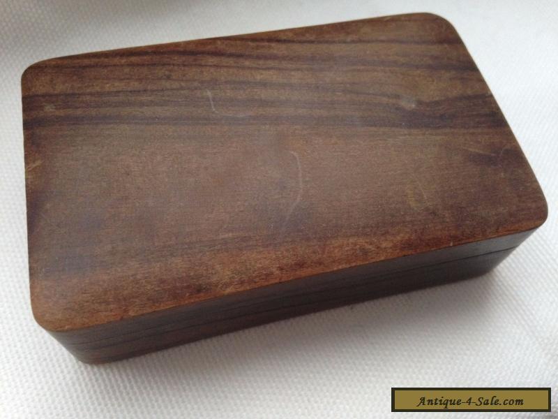 vintage jerusalem wooden box for sale in united kingdom. Black Bedroom Furniture Sets. Home Design Ideas