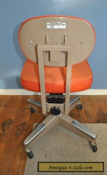 Vintage InterRoyal Royal Metal Office Chair Mid Century