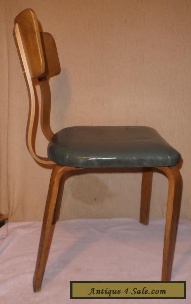 Vintage Thonet Bentwood Chair Side/Dining Mid Century Modern For Sale