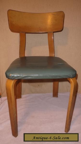vintage thonet bentwood chair side dining mid century modern for sale in united states. Black Bedroom Furniture Sets. Home Design Ideas