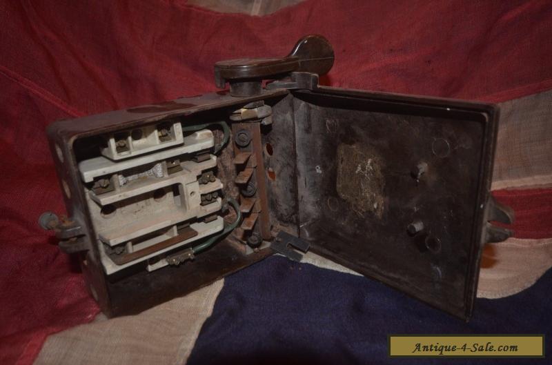 vintage bakelite 034mem034 fuse box switch 1930039s 40039s 3183 2 vintage bakelite \