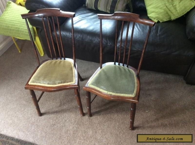 Pair of 1920s Antique Children's Chairs for Sale - Pair Of 1920s Antique Children's Chairs For Sale In United Kingdom