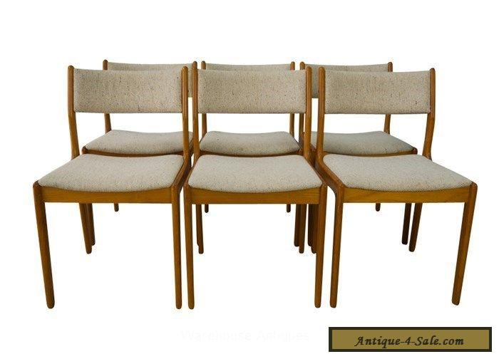 Findahl Teak Dining Chairs Danish Mid Century Modern For Sale