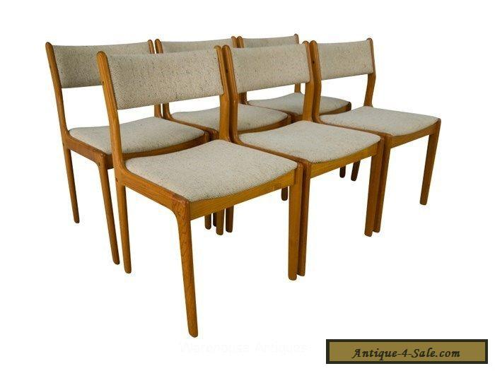 Findahl teak dining chairs danish mid century modern for for Designer dining chairs sale