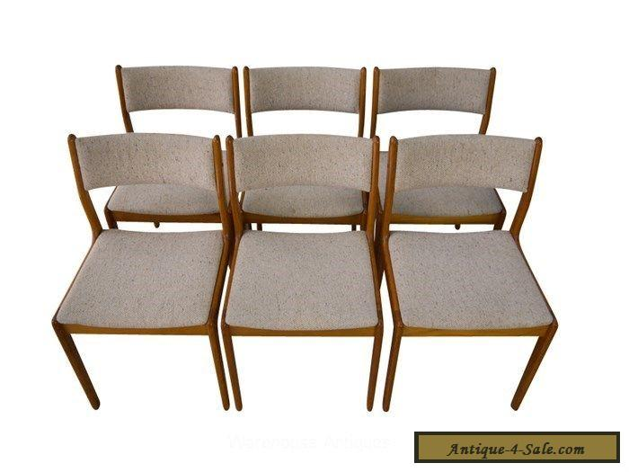 findahl teak dining chairs danish mid century modern for sale in