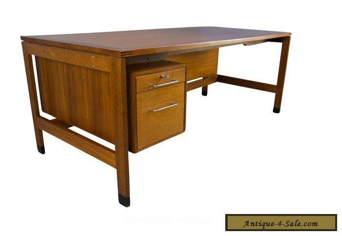 Hvidt executive desk danish mid century modern for sale in for Modern office desk for sale