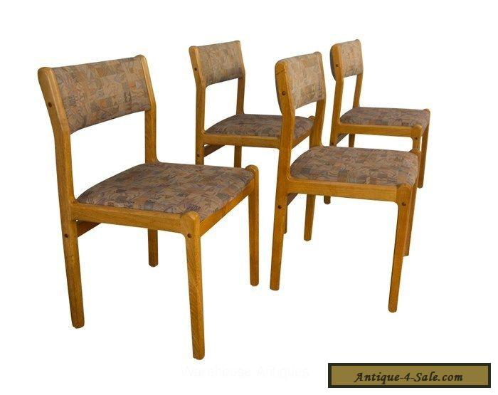 moller teak dining chairs mid century danish modern for sale in united