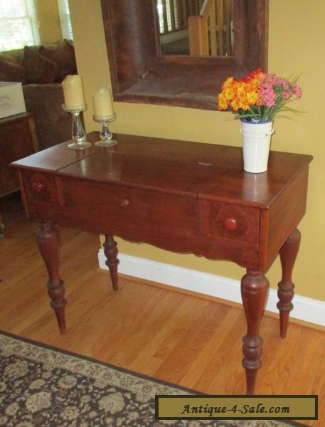 Antique Mahogany Secretary Spinet Piano Desk 1920's for Sale - Antique Mahogany Secretary Spinet Piano Desk 1920's For Sale In