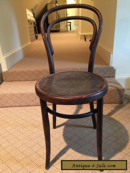 Antique Thonet Set Of 4 Chairs for Sale - Antique Thonet Set Of 4 Chairs For Sale In Canada
