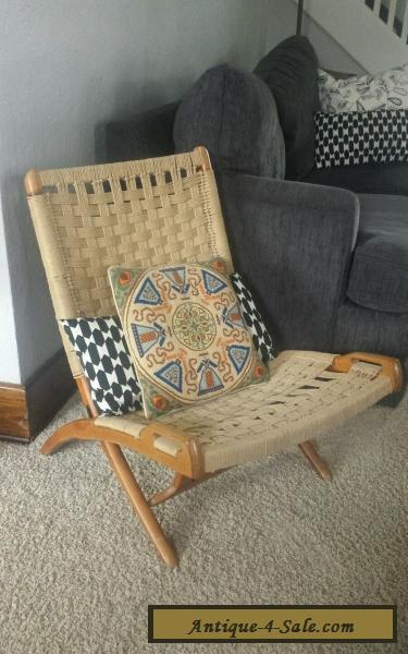 Vintage hans wegner folding chair