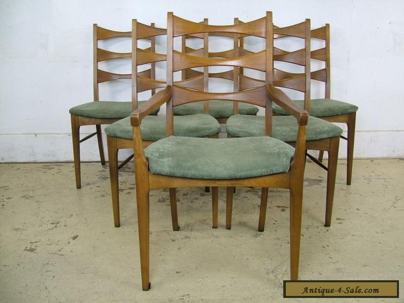 Buy Mid Century Modern Solid Walnut Bowtie Dining Chairs Lane Furniture