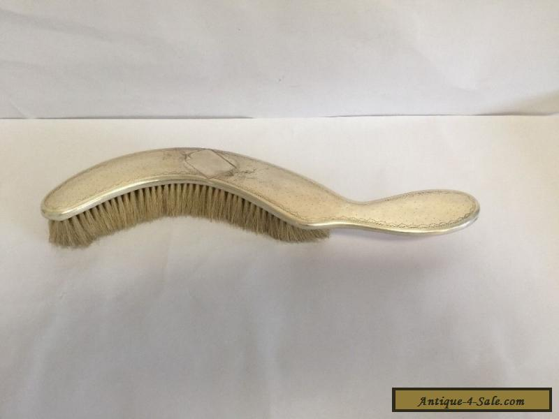 Antique Victorian Boulenger Butler Silver Plated Table Crumb Brush For Sale  ...