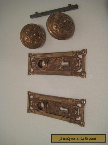 Vintage / Antique /Rare/ Brass Door Plates with !! FOX HEAD ! - Vintage / Antique /Rare/ Brass Door Plates With !! FOX HEAD !! And