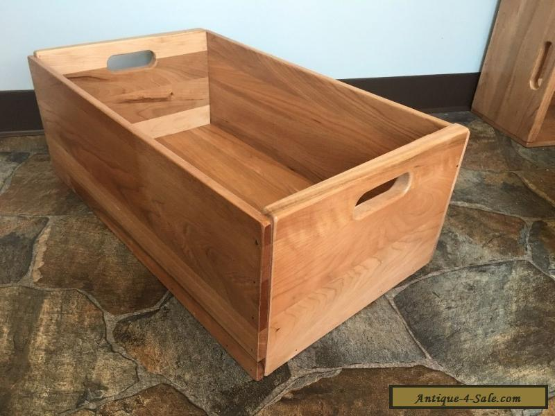 Large Wooden Crate Reclaimed Wood Box For Sale ...