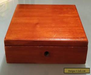 Antique Vintage Wooden Box for Sale