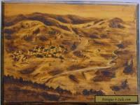 Vintage Wooden Box depicting Altglashutten Black Forest Germany
