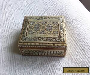 vintage inlaid box for Sale
