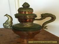 Vintage  COFFEE POT SAMOVAR  Rustic Eastern ANTIQUE