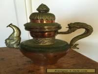 Vintage  COFFEE POT SAMOVAR  Rustic Eastern ANTIQUE