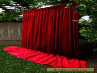 PARIS Apt MOULIN GYPSY HEAVY THICK VINTAGE VELVET CURTAIN THEATRE STUDIO X-L #2