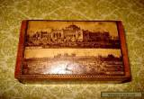 Antique  English Sycamore wooden box,circa 1890-00 for Sale