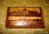 Antique  English Sycamore wooden box,circa 1890-00 for Sale