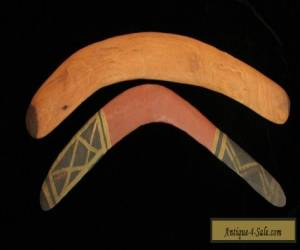 2 Aboriginal boomerangs from the Central desert  for Sale