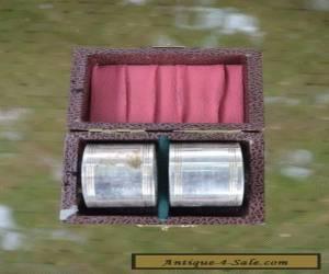 Antique EPNS AI Napkin Rings, ORIGINAL VINTAGE BOX  for Sale
