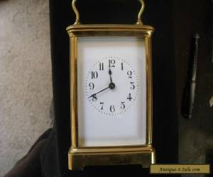 ANTIQUE----CARRIAGE CLOCK Made In France.. Large Size... for Sale