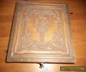 vintage  wooden box  (needs work) for Sale