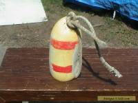 Old Lobster Pot, New England Fishing Buoy. Made in USA