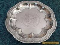 Gorham Silver Plated 9 inch Chinese Plate