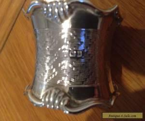 Sterling Silver Serviette Ring for Sale