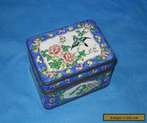 Vintage Chinese Export Enameled Box  for Sale