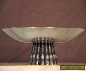 rare large signed WMF German STEEL TAZZA fruit bowl dish original good condition for Sale