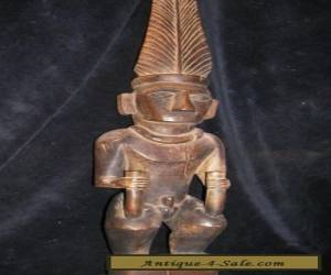 "orig $299. NIAS ANCESTOR FIGURE EARLY 1900S 28""  for Sale"